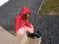 My niece Anna says: Make sure you've got the right boots on.